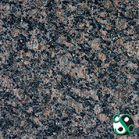 12x12 English Brown Polished Granite Tile
