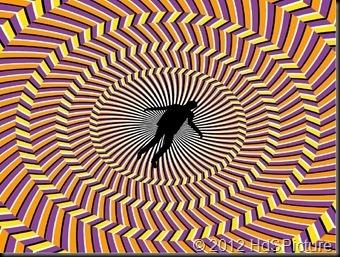 ilustrasi orang vertigo