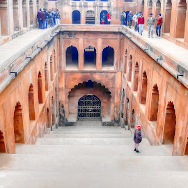 Babrhi by Sanjeev Goyal - Buildings & Architecture Public & Historical ( water, old, times, lucknow, storage )