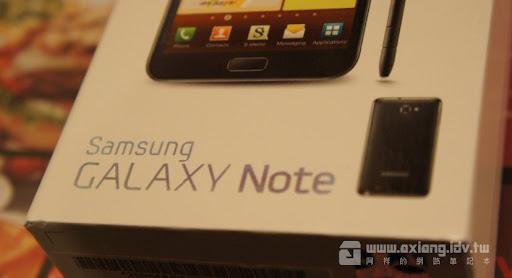 [Mobile] 阿祥的「行動」網路筆記本-Galaxy Note開箱分享!