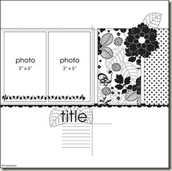 august layout template