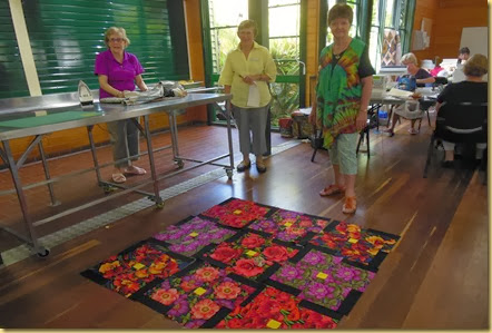 Linda w flower box quilt