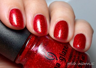 China Glaze Ring In the Red 3