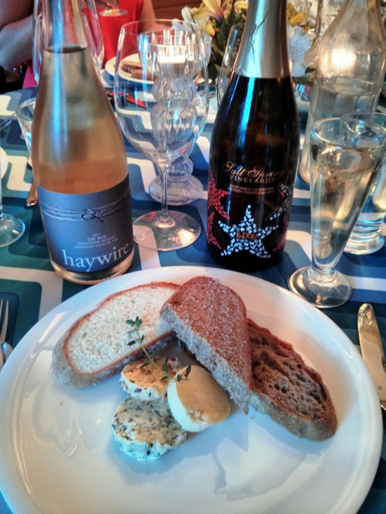 Sparkling Wines and Bread & Butter