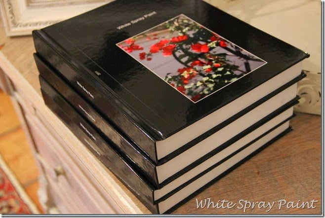 White Spray Paint Blog Books