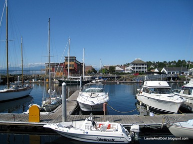 Marina looking towards Port Townsend