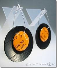orecchini disco