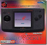 Scatola del Neo Geo Pocket Color