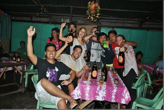 drinking red horse in the phillippines