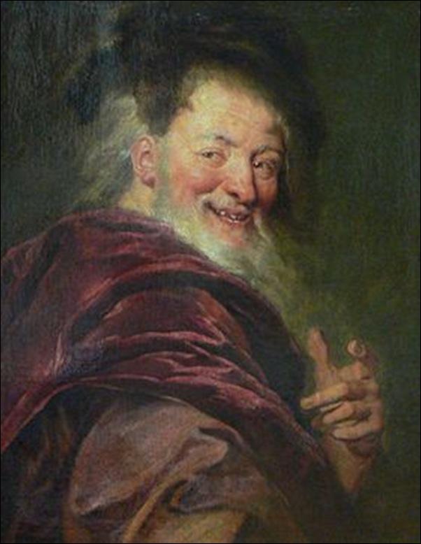 Antoine Coypel, Portrait de Démocrite