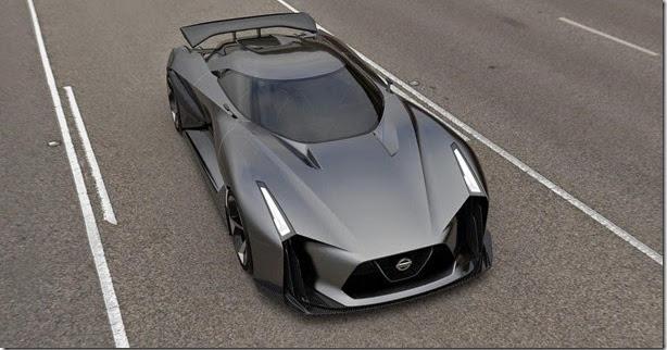 Nissan Concept 2020 Vision antecipa o novo GT-R