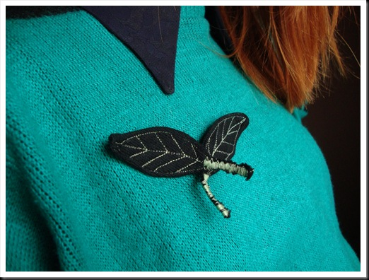 leavesbrooches