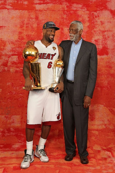 Gallery Finals MVP LeBron James Trophy Media Photo Shoot