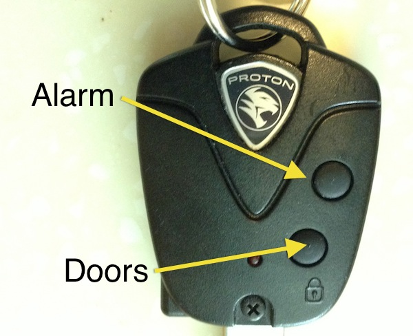 The Car Alarm - living in Malaysia