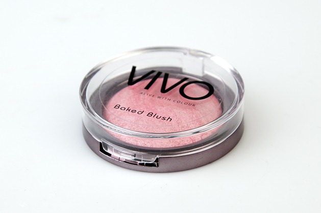 vivo baked blush rosy review swatch budget tesco uk makeup beauty 2
