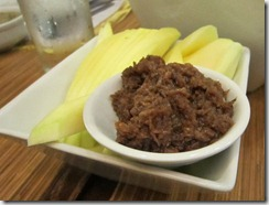 green mangoes and bagoong, 240baon