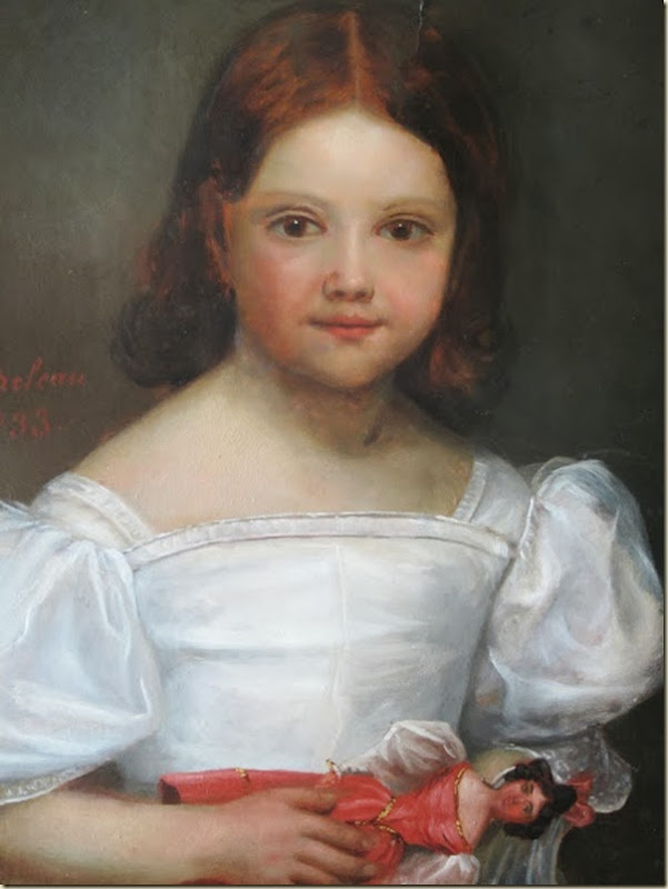 Valentin-Louis Doutreleau, Fillette et sa poupée