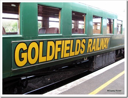 Goldfields Railway, Waihi. 1931 rolling stock.