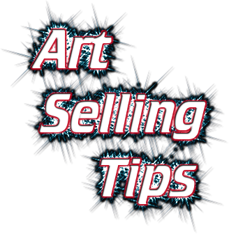 7 best selling art tips for emerging artists artpromotivate for Best way to sell paintings