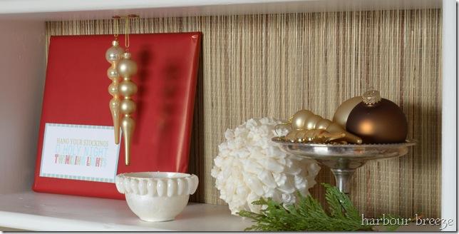 ornament shelf