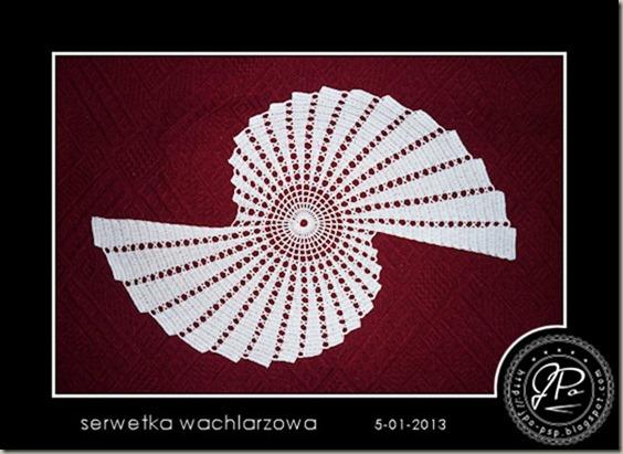 JPo-serwetka wachlarzowa