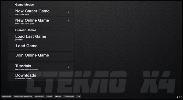 Steklo X4 Football Manager 2014