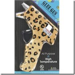 leopard hot glue gun hobby lobby