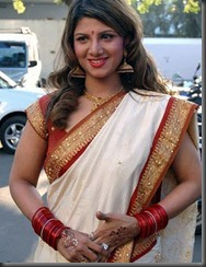 rambha in wedding_saree