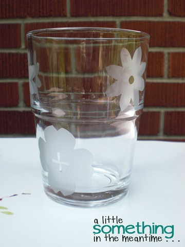 Etched Glass Flowers 2 WM