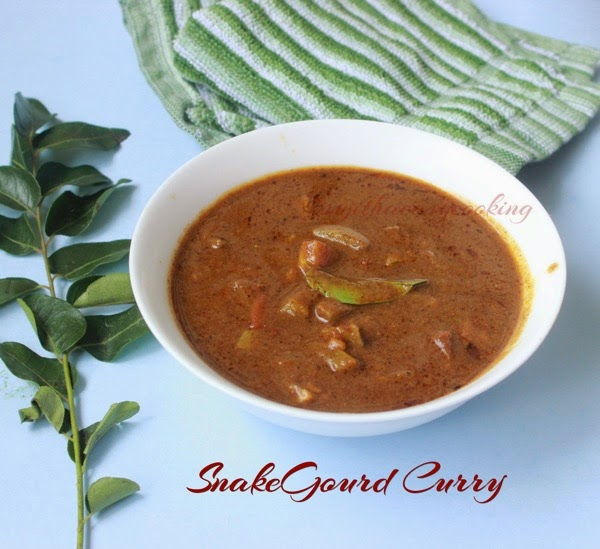 Snakegourd curry