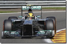 Hamilton conquista la pole del gran premio del Belgio 2013