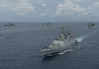 Exercise Malabar 2012 Indian Navy US Navy