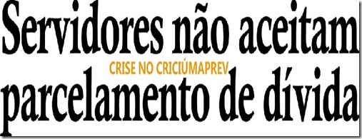JM-Criciumaprev em crise