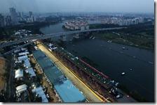 Il circuito di Marina Bay