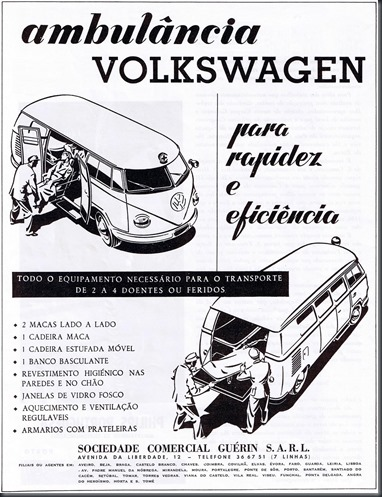 1964 Ambulância Volkswagen