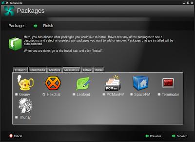 Turbulence - applicazioni in Openbox