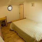 Chambre Rose 2ème étage chalet L'Orée du Bois - Location - Les Carroz