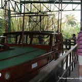 """Et même son bateau """"le Pilar"""" exposé dans le parc"""
