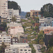 Lombard St from Coit Tower