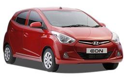 Hyundai Eon front angle view