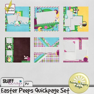 Easter Peeps Quickpages