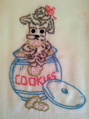 embroidery poodle