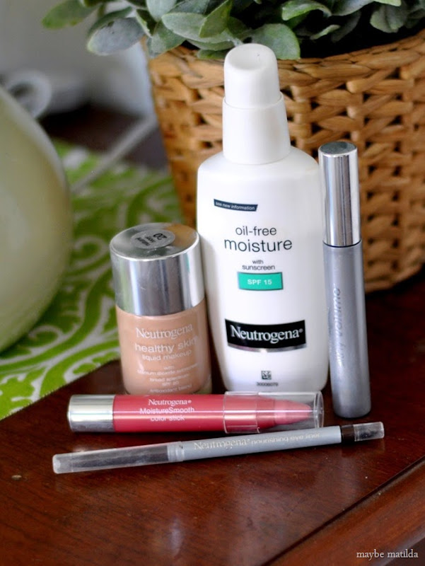5 Neutrogena products for a 5-minute, easy, natural-looking makeup routine