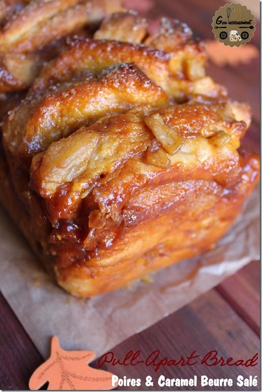 Pull-Apart Bread Poires & Caramel Beurre Salé 10