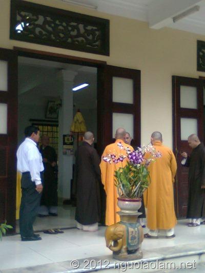 tang lễ hòa thượng Thích Minh Châu - 43