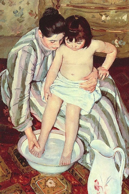 The Bath Mary Cassatt 1891-92