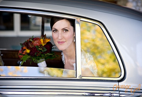 car Silvertip_Wedding_ND5 elements floral and orange girl photo