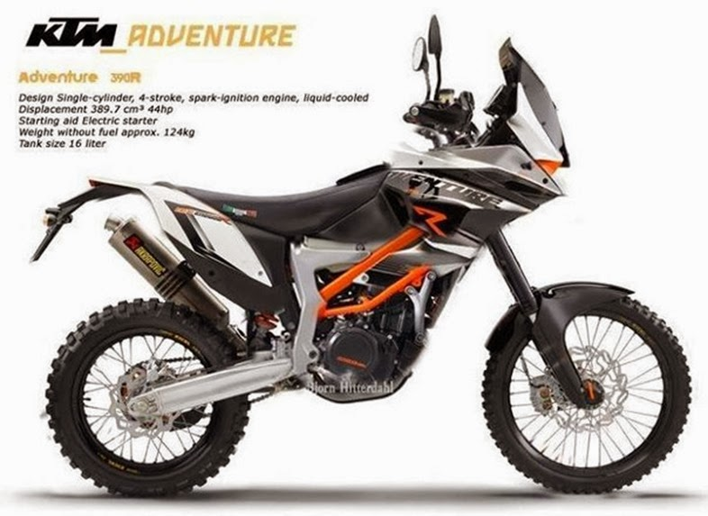 KTM 390 adventure r