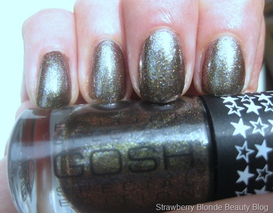 GOSH Galaxy nail polish