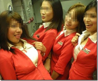 sluts of air asia0